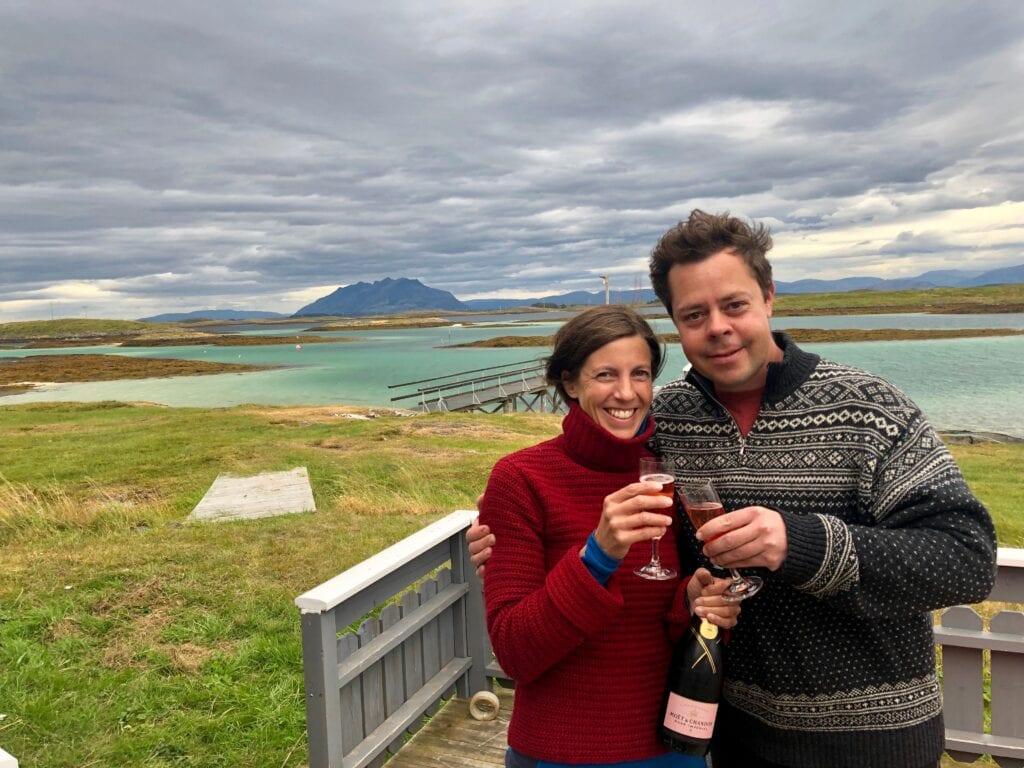 Ida & Johannes Collin Cheers