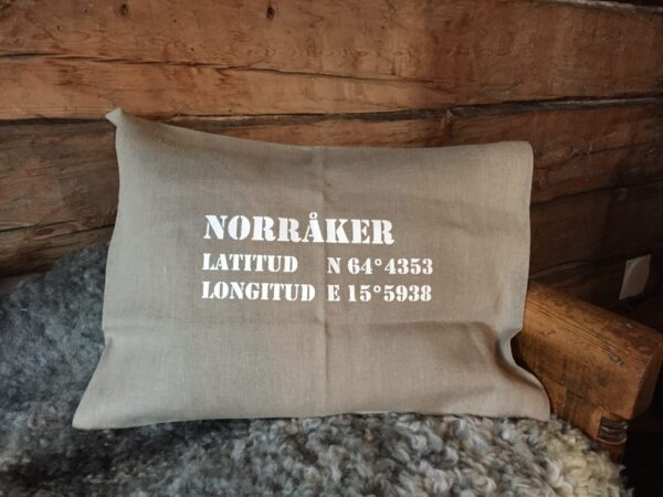 Kuddfodral i linne Norråkershandel