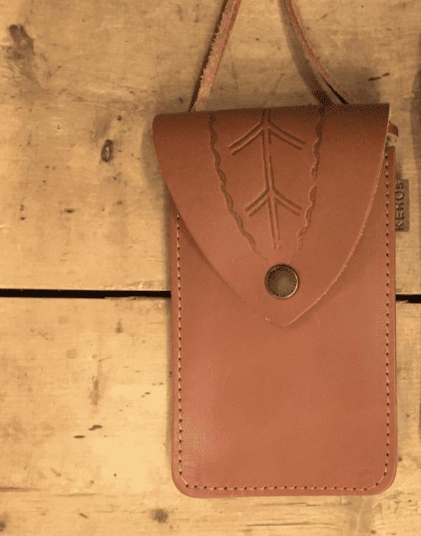 Lilla väskan brun