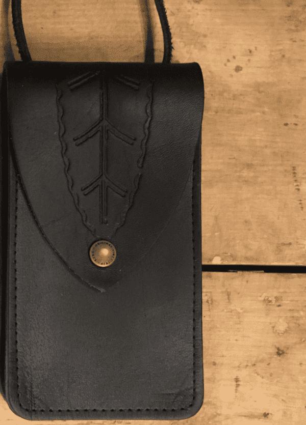 Större väskan svart