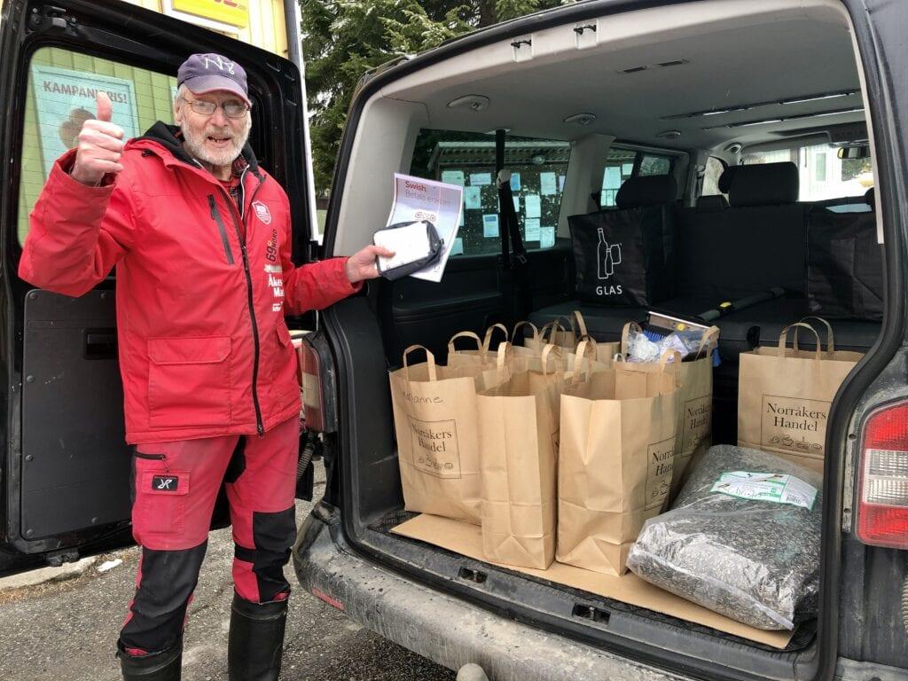 Rolf kör Norråkershandel